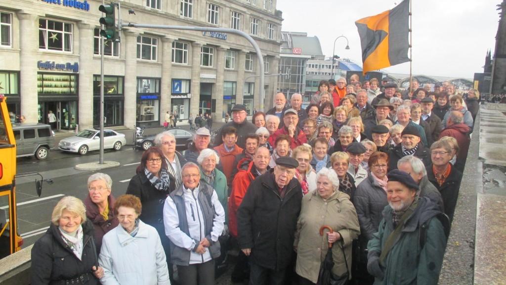 Gruppenfoto in Köln
